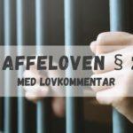 Straffeloven § 281 med lovkommentar