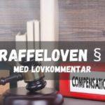 Straffeloven § 35 med lovkommentar