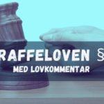 Straffeloven § 41 med lovkommentar