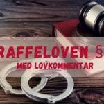 Straffeloven § 43 med lovkommentar