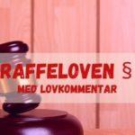 Straffeloven § 5 med lovkommentar
