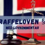Straffeloven § 8 med lovkommentar