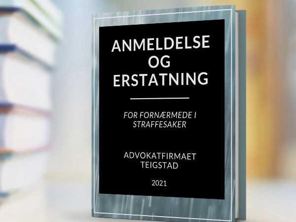 Boken anmeldelse og erstatning, for ofre for familievold og overgrep